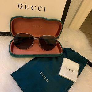Authentic Gucci Aviator Unisex Sunglasses